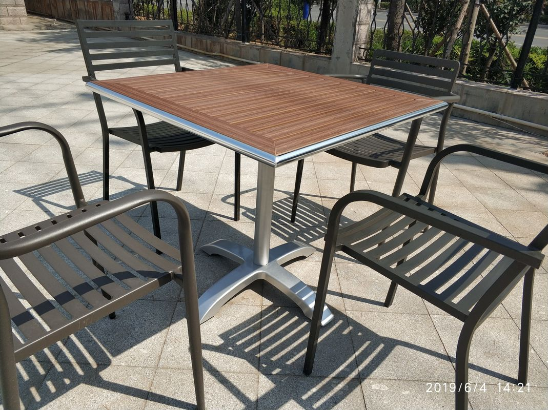 Cross Table base Aluminum Table leg Outdoor Furniture Leisure Table chair